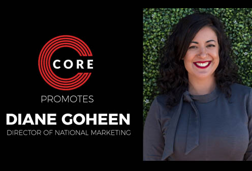 CORE Promotes Diane Goheen to Director of National Marketing
