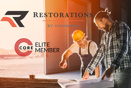 Highmark Restorations Joins CORE Elite