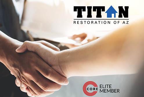 Titan Restoration Joins CORE Elite