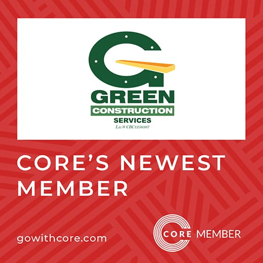 Green Construction Services New Member