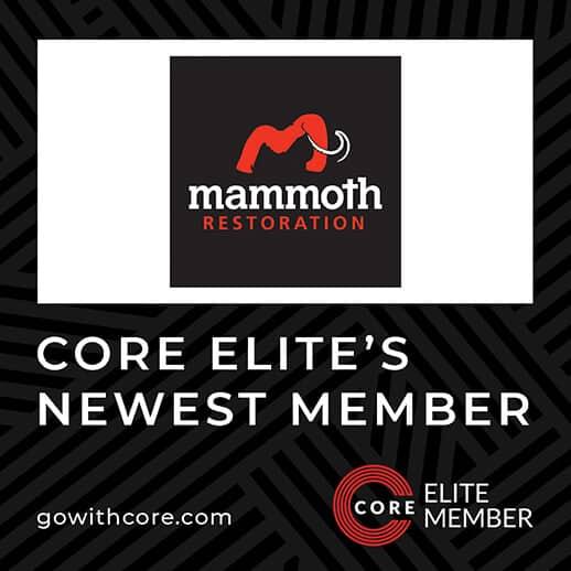 Mammoth Restoration Joins CORE Elite